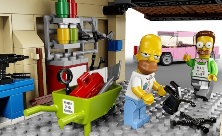 Simpsons-Garage-LEGO