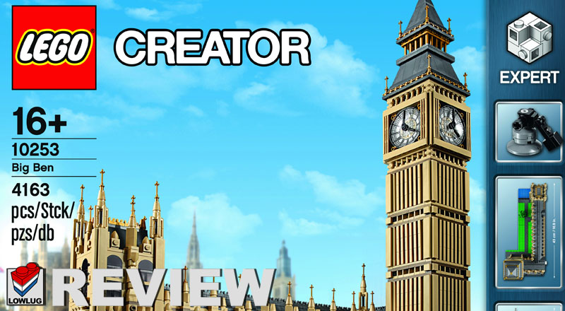 Review van 10253 Big Ben